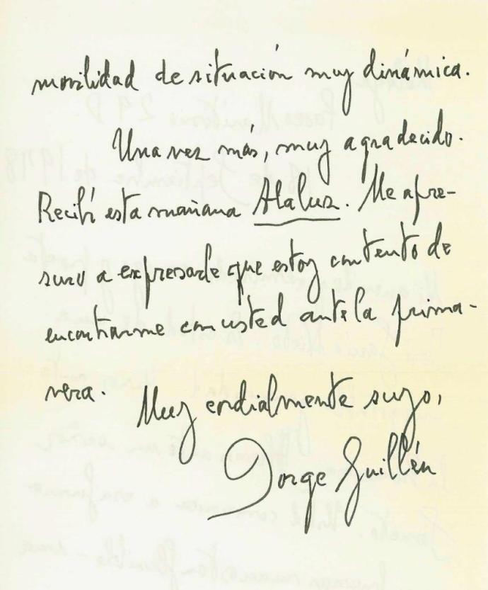 Jorge Guillén-10-1978-2